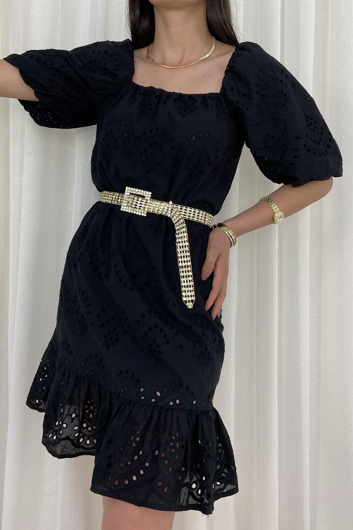 175 810 Karpuz Kol Fisto Elbise